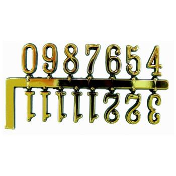 NUMEROS ESFERA PARED ADHESIVOS ARABES 15 MM [2-7055-0-A15]