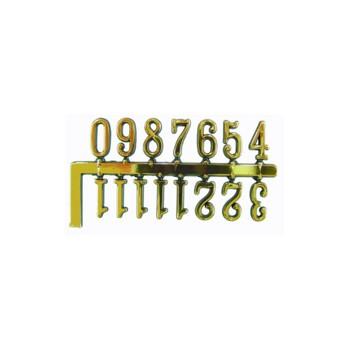 NUMEROS ESFERA PARED ADHESIVOS ARABES 10 MM [2-7055-0-A95]