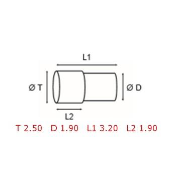 12 TUBOS DE PROTECCION [2-1562-0-1]