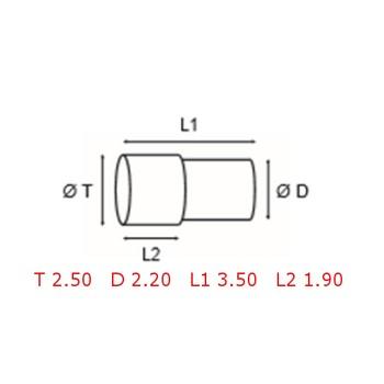 12 TUBOS DE PROTECCION [2-1562-0-10]