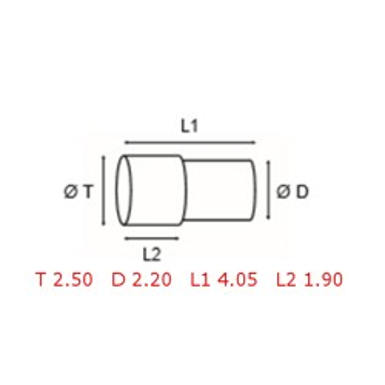 12 TUBOS DE PROTECCION [2-1562-0-11]