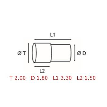 12 TUBOS DE PROTECCION [2-1562-0-16]