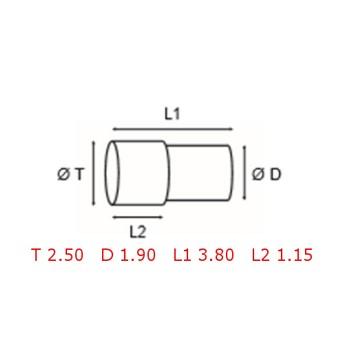 12 TUBOS DE PROTECCION [2-1562-0-20]