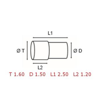 12 TUBOS DE PROTECCION [2-1562-0-26]