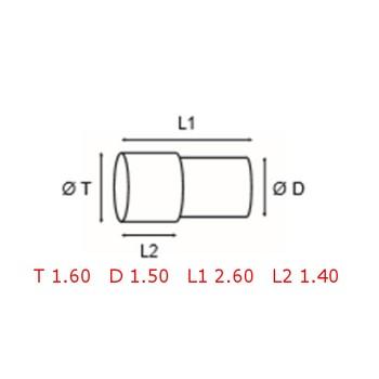 12 TUBOS DE PROTECCION [2-1562-0-33]