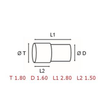 12 TUBOS DE PROTECCION [2-1562-0-36A]