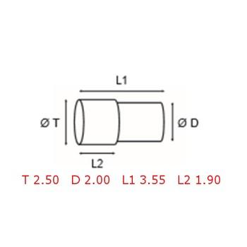 12 TUBOS DE PROTECCION [2-1562-0-5]