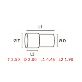 12 TUBOS DE PROTECCION [2-1562-0-7]