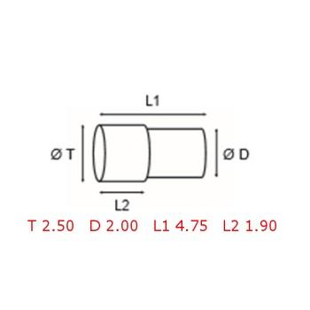 12 TUBOS DE PROTECCION [2-1562-0-8]