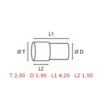 12 TUBOS DE PROTECCION [2-1562-0-23]