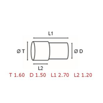 12 TUBOS DE PROTECCION [2-1562-0-28]