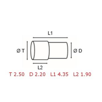 12 TUBOS DE PROTECCION [2-1562-0-12]