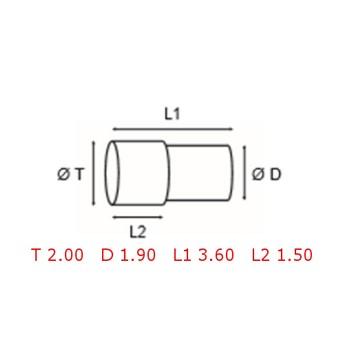 12 TUBOS DE PROTECCION [2-1562-0-22]