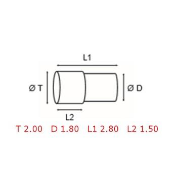 12 TUBOS DE PROTECCION [2-1562-0-15]