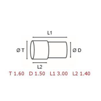 12 TUBOS DE PROTECCION [2-1562-0-32]