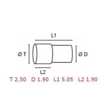 12 TUBOS DE PROTECCION [2-1562-0-4]