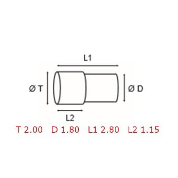 12 TUBOS DE PROTECCION [2-1562-0-14]