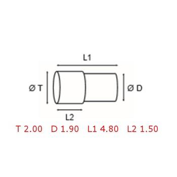 12 TUBOS DE PROTECCION [2-1562-0-24]