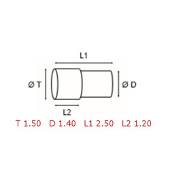 12 TUBOS DE PROTECCION [2-1562-0-35]