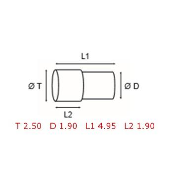 12 TUBOS DE PROTECCION [2-1562-0-2]