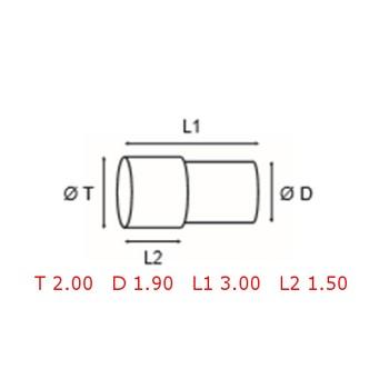 12 TUBOS DE PROTECCION [2-1562-0-21]