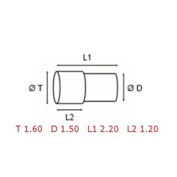 12 TUBOS DE PROTECCION [2-1562-0-27]