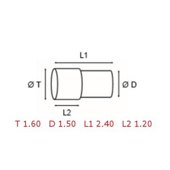 12 TUBOS DE PROTECCION [2-1562-0-30]