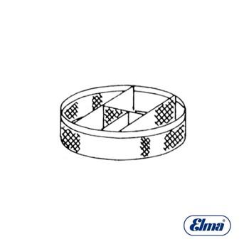 ELMASOLVEX CESTILLA 4 DIVISIONES 64 MM [2-8059-0-0]
