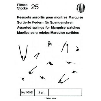 SURTIDO BERGEON 25 MUELLES RELOJ MARQUISE [1-10101-BER-0]
