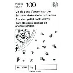 SURTIDO BERGEON 100 TORNILLOS PUENTE VOLANTE [1-10111-BER-0]