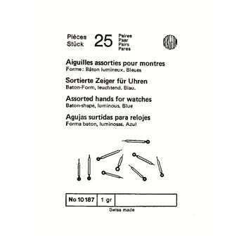 SURTIDO BERGEON 25 JGOS AGUJAS BATON RADIUM AZUL [1-10187-BER-0]