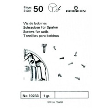 SURTIDO BERGEON 50 TORNILLOS BOBINA [1-10233-BER-0]