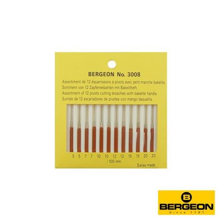 SURTIDO ESCARIADORES BERGEON 3008