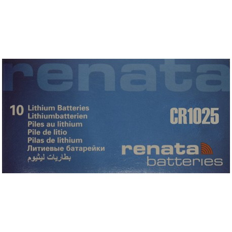 PILA DE LITIO RENATA CR1025
