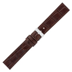CORREA PIEL TOP GRAIN MONTANA MARRON OSC 22 MM