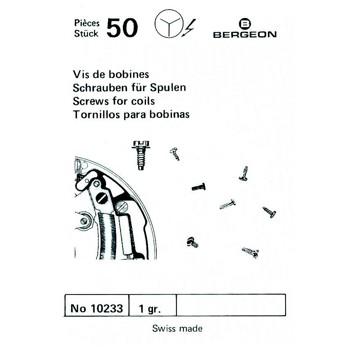 SURTIDO BERGEON 50 TORNILLOS BOBINA
