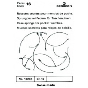 SURTIDO BERGEON 16 MUELLES SECRETOS BOLSILLO
