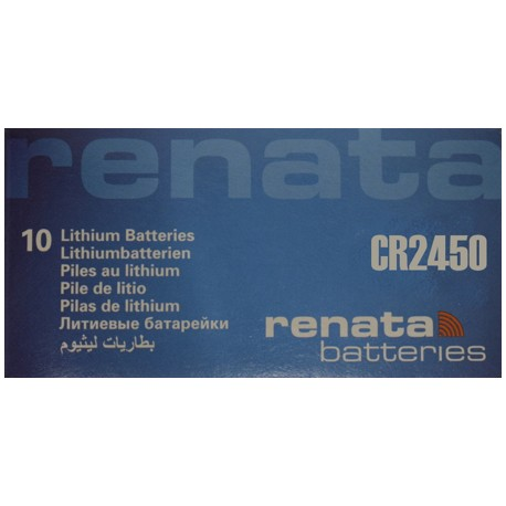PILA DE LITIO RENATA CR2450