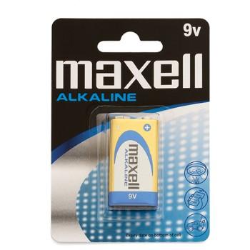 PACK DE 1 PILA MAXELL LR9-6LR61 9V