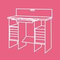 Mobiliario y material de organización