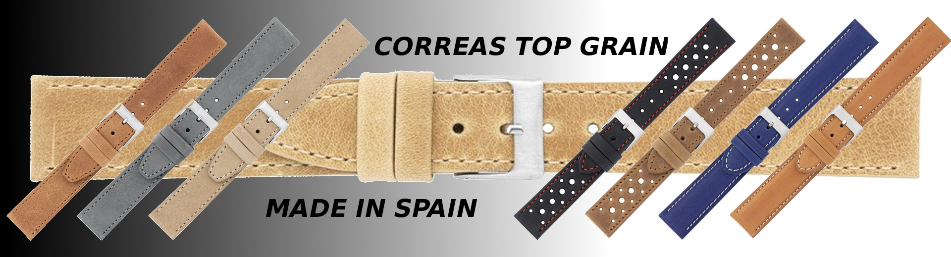 Correas Top Grain Made in Spain